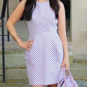 Club Monaco Salma White Cross Back Dress Size 8
